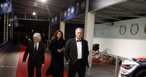 Bernie Ecclestone,Fabiana Ecclestone, Chase Carey