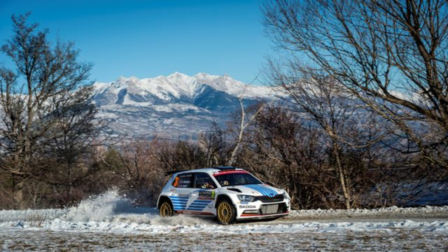 Andreas Mikkelsen, Rally Monte Carlo