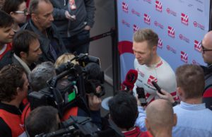 Kevin Magnussen, F1 test