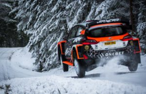 Mads Ostberg, Rally Sweden