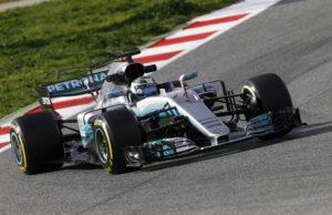 Valtteri Bottas, F1 test