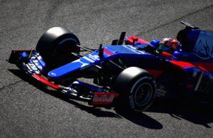 Daniil Kvyat, F1 test