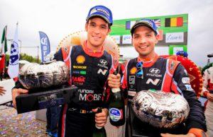 Thierry Neuville, Nicolas Gilsoul, Hyundai