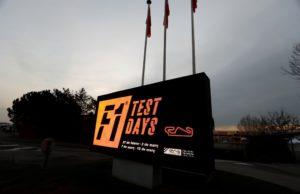 Pirelli, F1 test