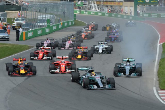 start, F1, Canadian Grand prix