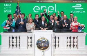 Formula E, New York, stock exchange, Wall Street