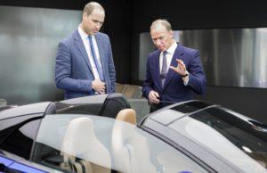 Duke of Cambridge, McLaren Automotive