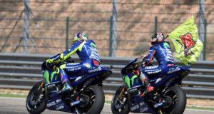 Maverick Viñales, Valentino Rossi