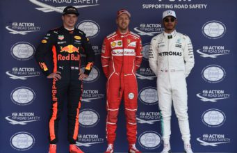 Sebastian Vettel, Lewis Hamilton, Max Verstappen