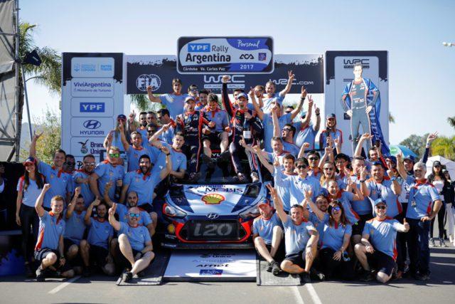 Hyundai, Rally Argentina