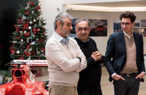 Sergio Marchionne, Mattia Binotto, Maurizio Arrivabene