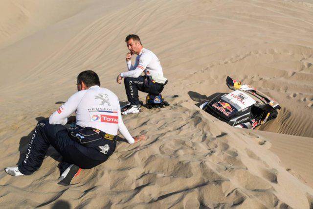 Sebastien Loeb, Daniel Elena, Dakar