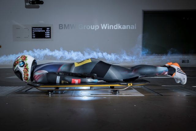 BMW, wind tunnel, Tina Hermann, Skeleton