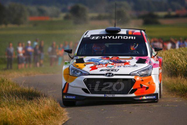 Ypres Rally, Thierry Neuville, Nicolas Gilsoul, Hyundai i20 R5