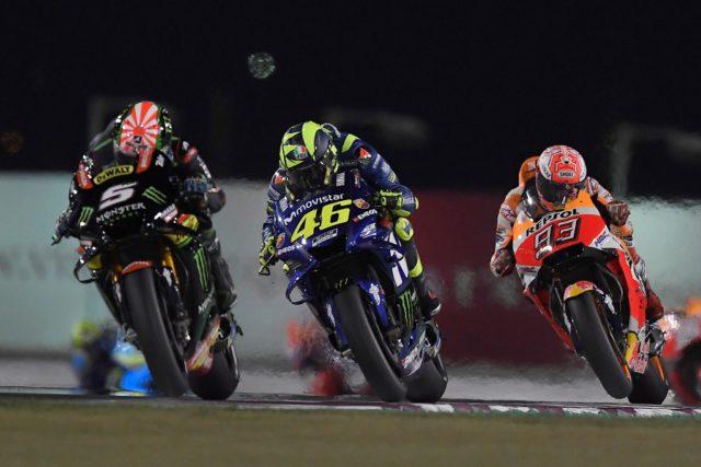 Valentino Rossi, Marc Marquez, Andrea Dovizioso