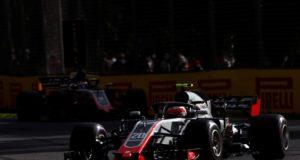 Romain Grosjean, Haas, Kevin Magnussen