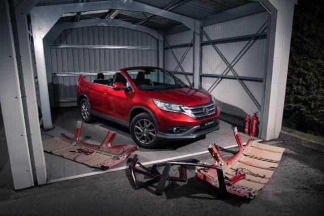 Honda CR-V concept roadster