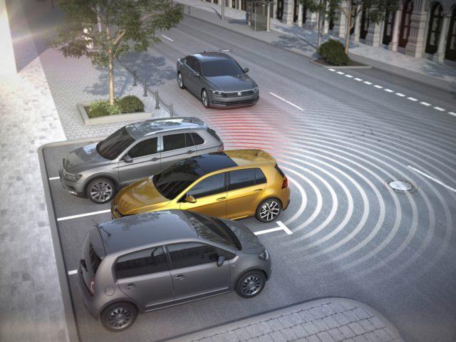 Rear Traffic Alert, Volkswagen