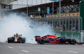 Daniel Ricciardo, Max Verstappen, Red Bull, Azerbaijan Grand prix
