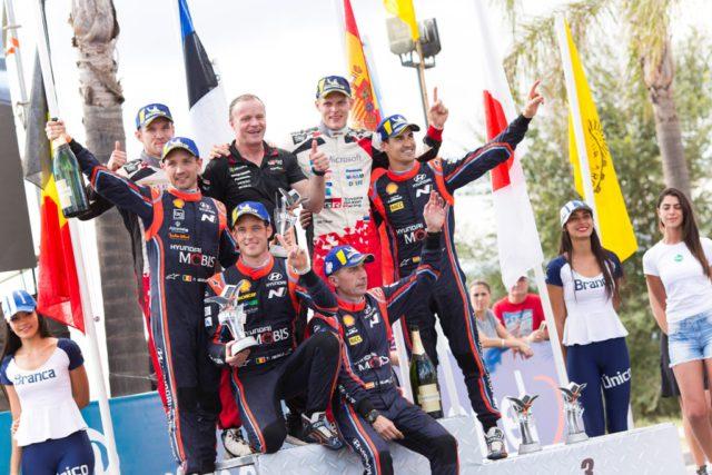 Hyundai, Rally Argentina, podium