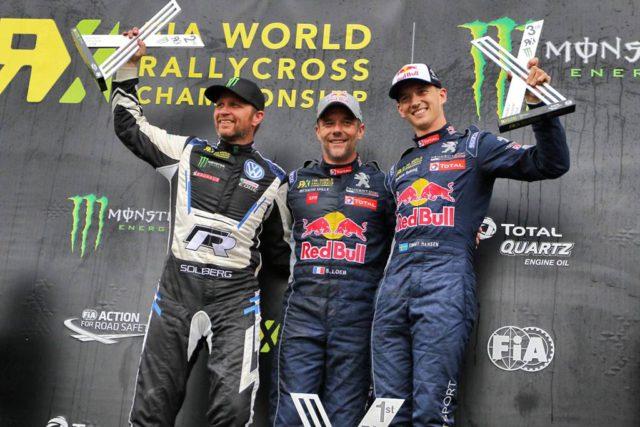 Sebastien Loeb, Petter Solberg, Timmy Hansen