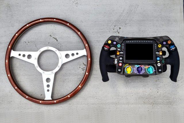 Mercedes, steering wheel
