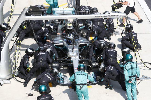 pit stop, Mercedes