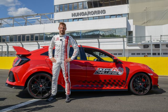 Jenson Button, Honda Civic Type R