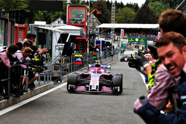 Force India, Esteban Ocon