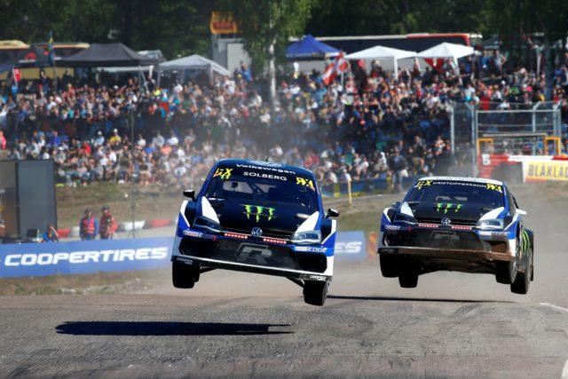 PSRX Volkswagen Sweden, Johan Kristoffersson, Petter Solberg