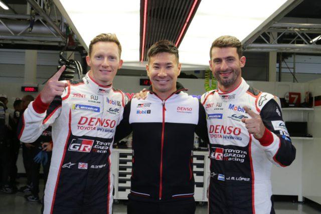 Toyota WEC Silverstone 2018