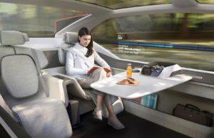 Volvo 360c autonomous concept