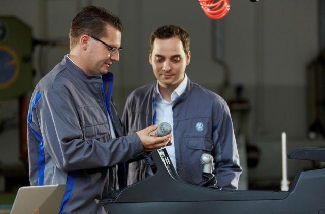 Volkswagen 3D printing