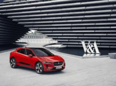 Jaguar I-PACE clay model