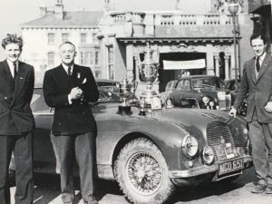 Lyndon Sims, Rupert Jones, Aston Martin DB2