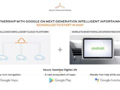 Renault Google