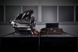 Mercedes hybrid power unit