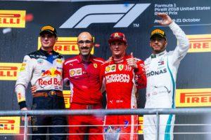 Max Verstappen, Kimi Raikkonen, Lewis Hamilton