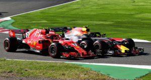 Kimi Raikkonen, Max Verstappen