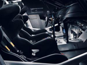 Volkswagen Polo GTI R5 interior