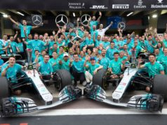 Mercedes fifth title