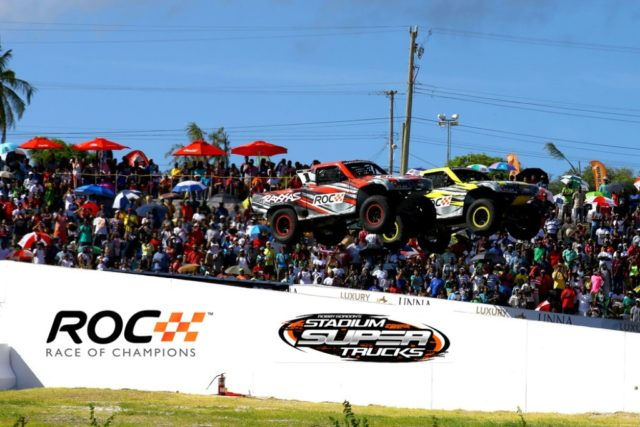 Robby Gordon trucks