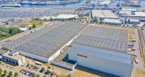 Nissan solar roof