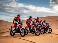 Honda team Dakar 2019