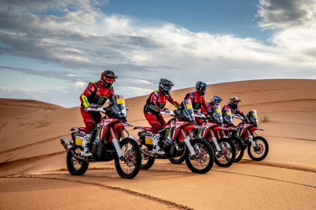 Honda team Dakar 2019