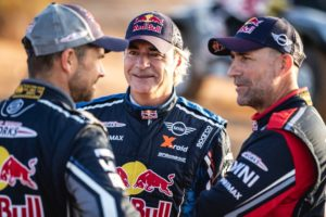 Stephane Peterhansel, Carlos Sainz, Cyril Despres