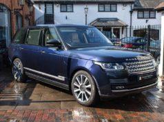 Prince Phillip Range Rover