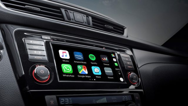 Nissan in-car connectivity