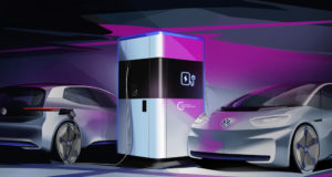 Volkswagen mobile charging station