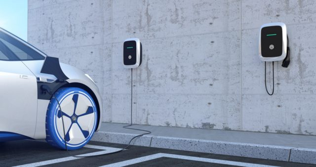 Volkswagen, charging, electric cars